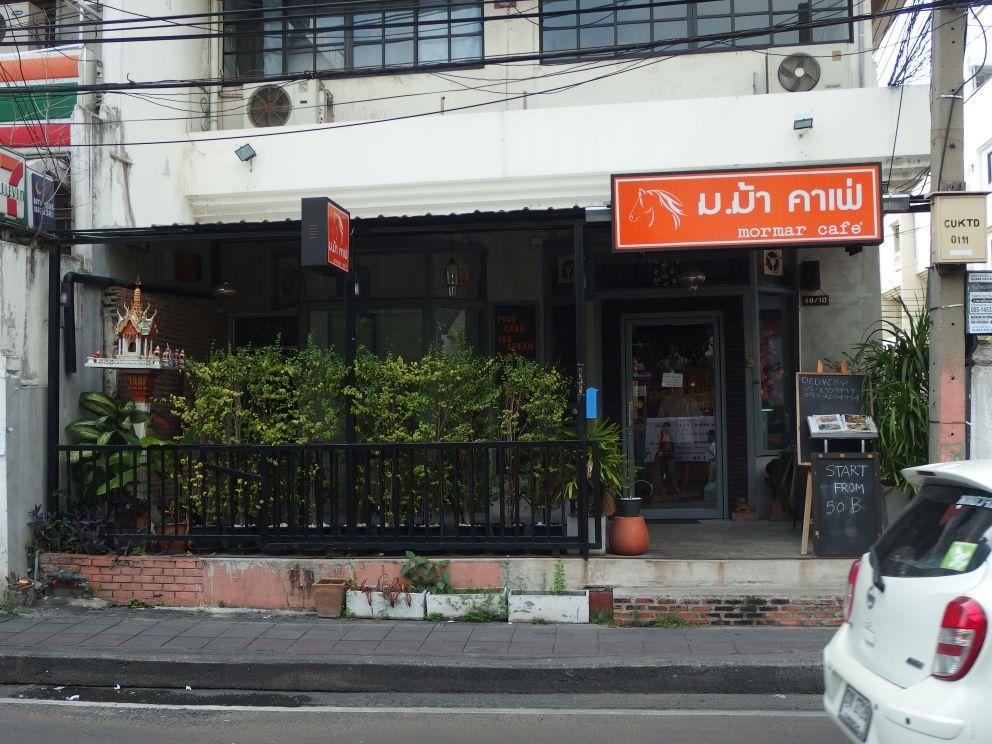Mormar Cafe na  Soi Ruamrudee