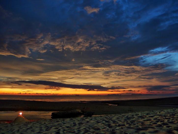 Zachód słońca Koh Lanta