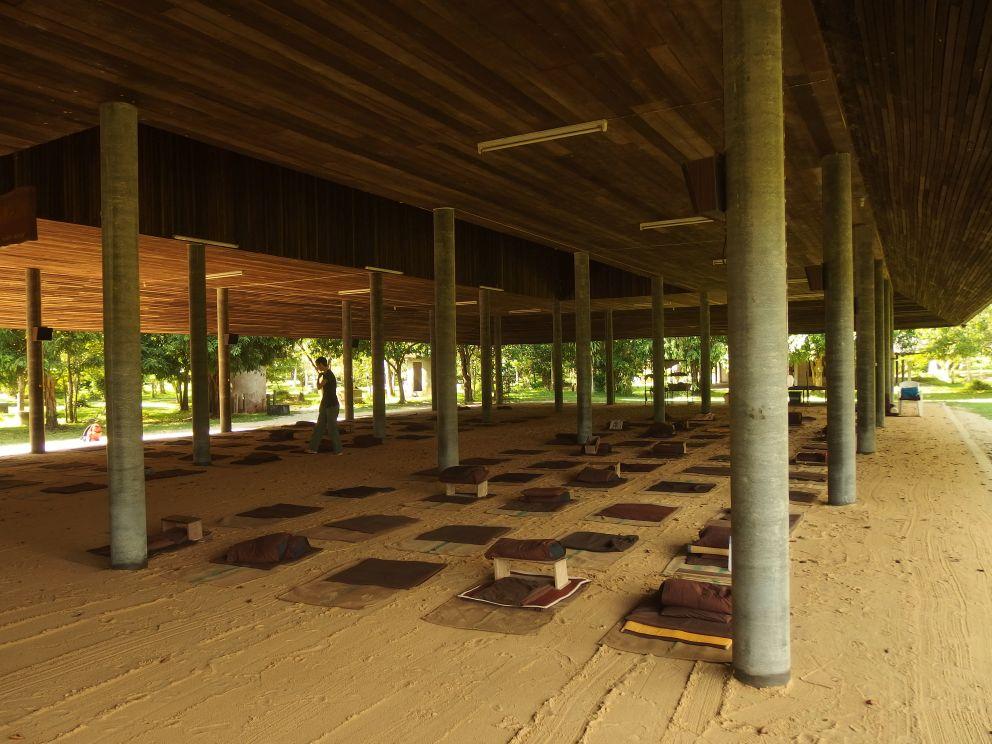 Główny hol medytacyjny