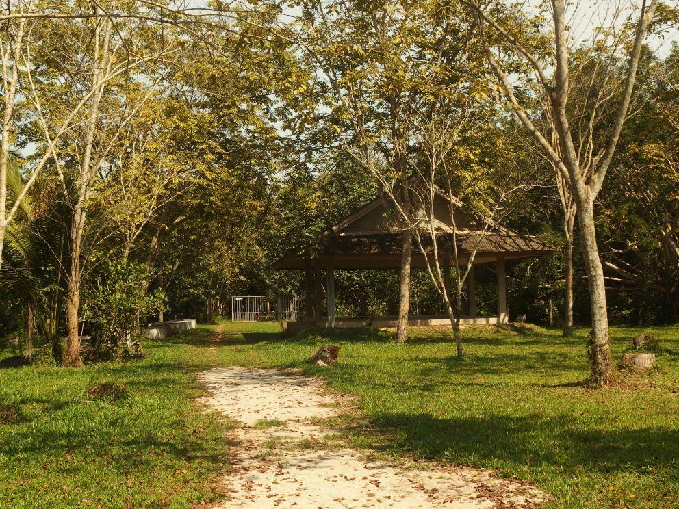 Suan Mokkh, teren ośrodka
