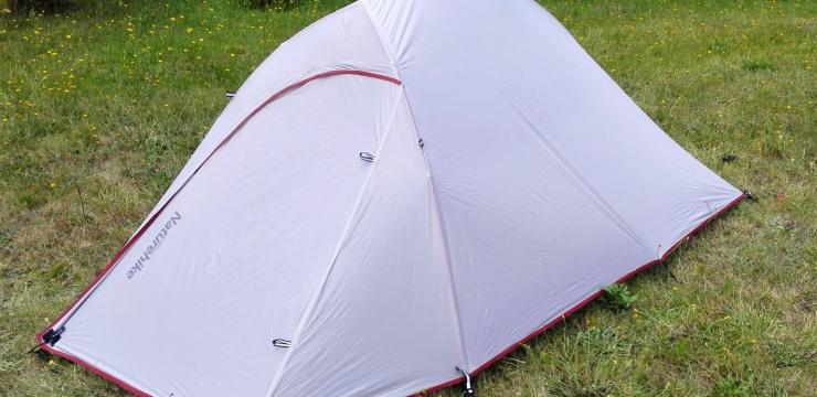 Recenzja ultralekkiego namiotu Naturehike – chińskie nie znaczy gorsze!